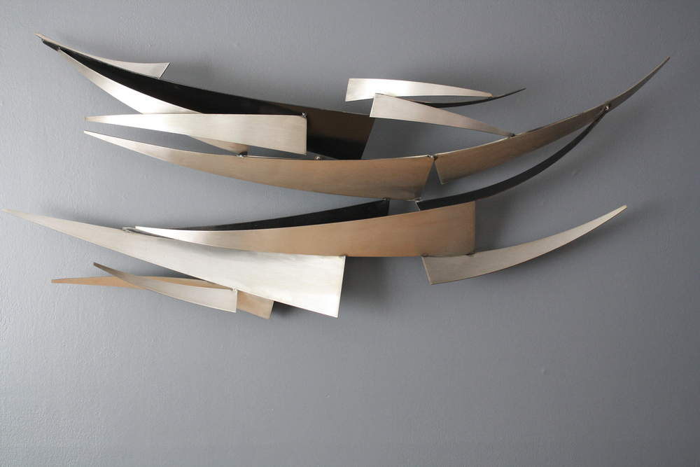 Copy of Curtis Jere Metal Wall Sculpture