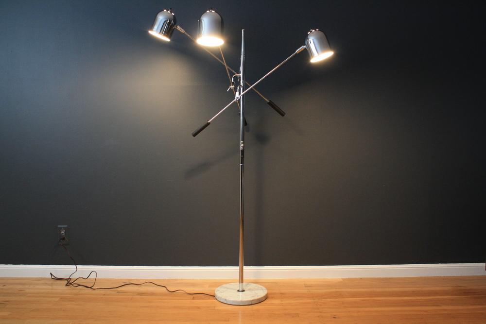 Mid-Century Modern Robert Sonneman Floor Lamp