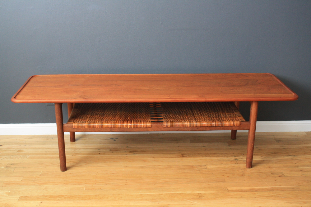 Copy of Danish Modern Coffee Table by Hans Wegner