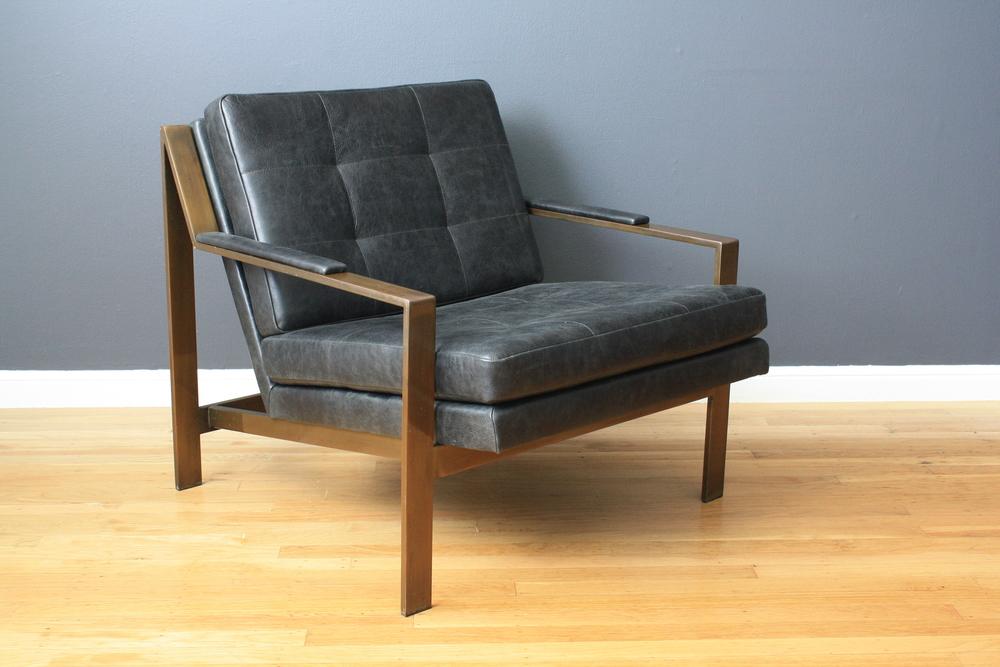 Vintage Mid-Century Milo Baughman Lounge Chair