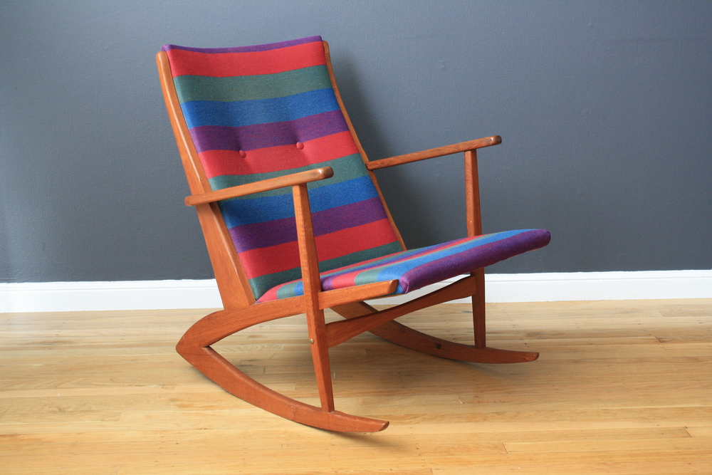 Copy of Danish Modern Georg Jensen Teak Rocker