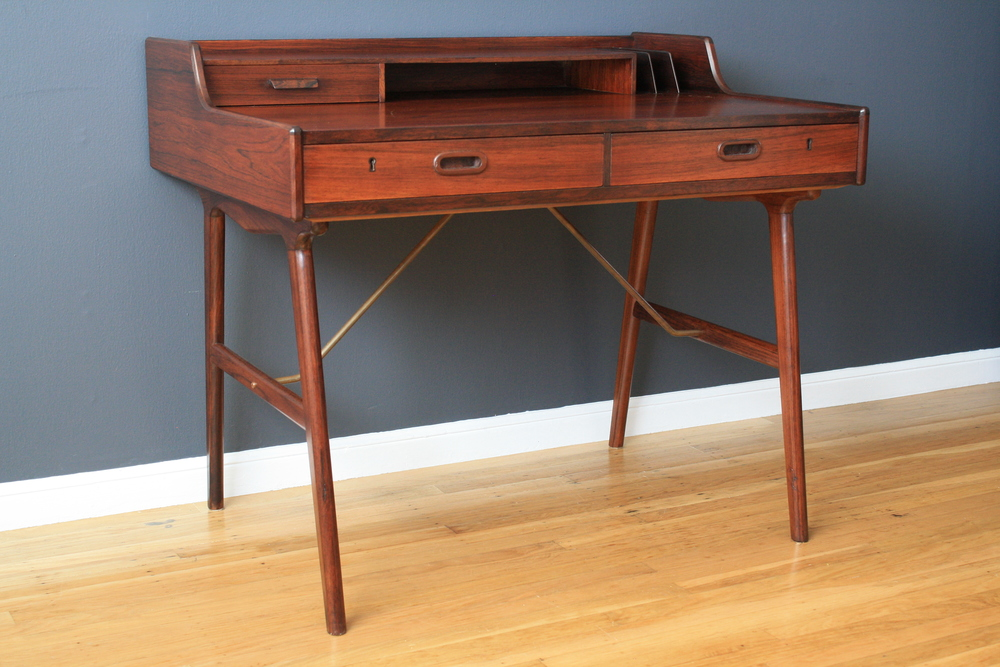 Copy of Danish Modern Rosewood Desk Arne Wahl Iversen