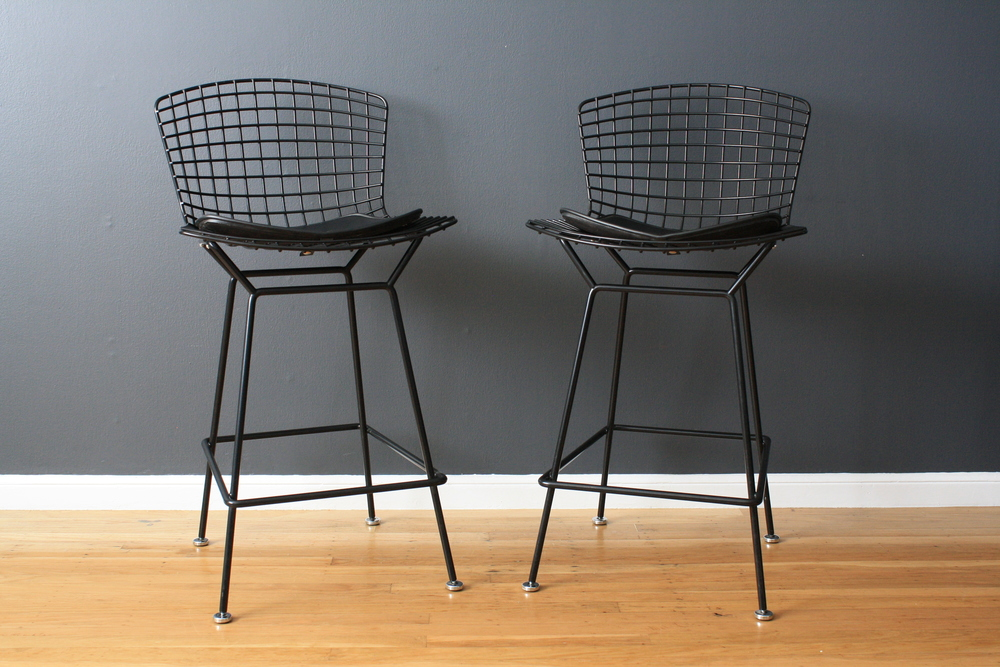 Copy of Pair of Vintage Knoll Bar Stools
