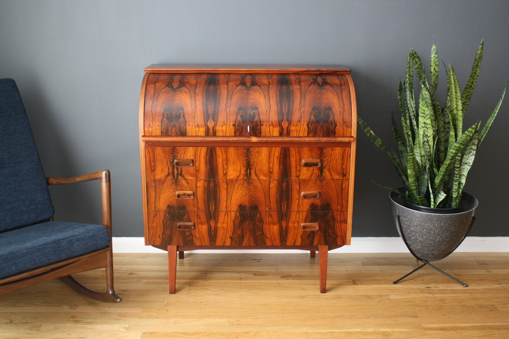 Copy of Vintage Mid-Century Rosewood Secretary