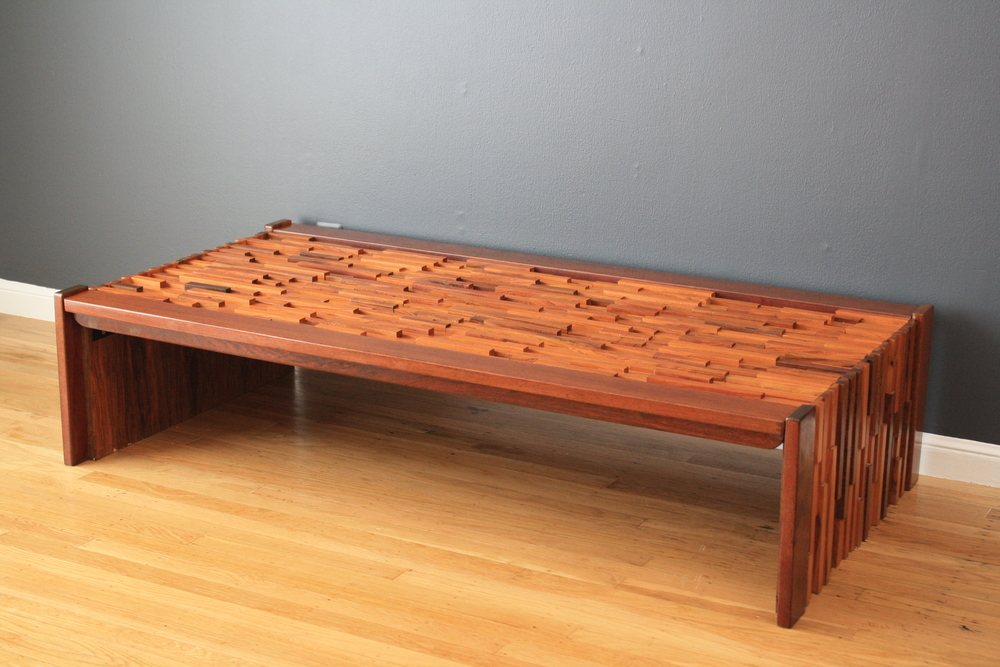 Vintage Mid-Century Coffee Table by Percival Lafer