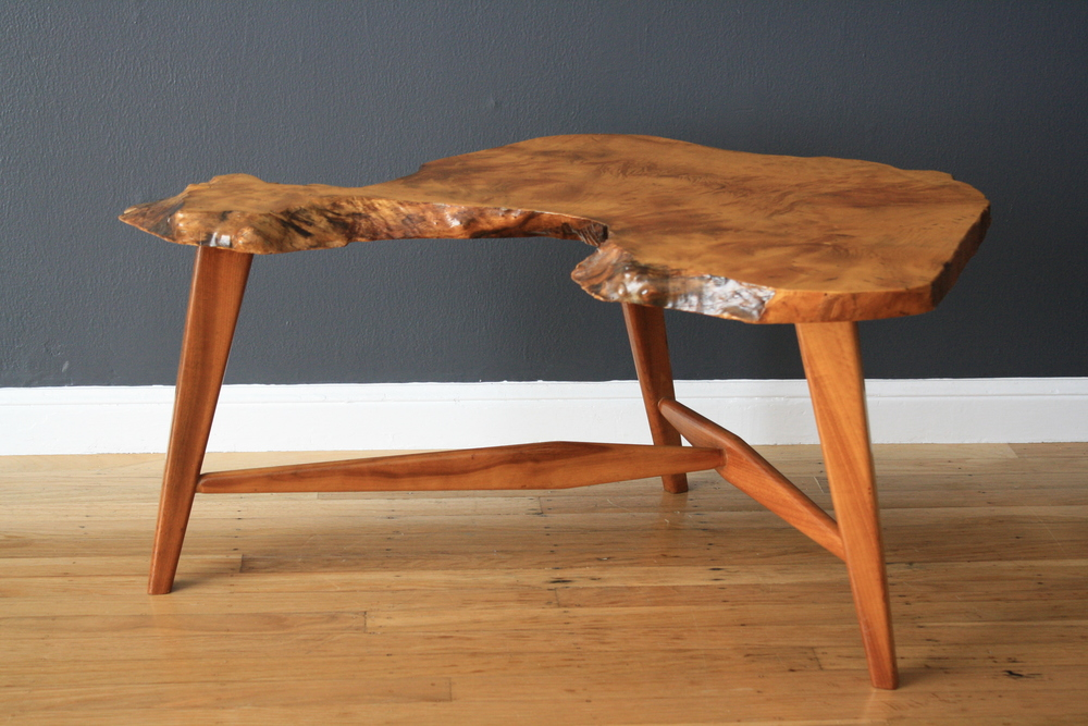 Copy of Vintage Wood Slab Coffee Table