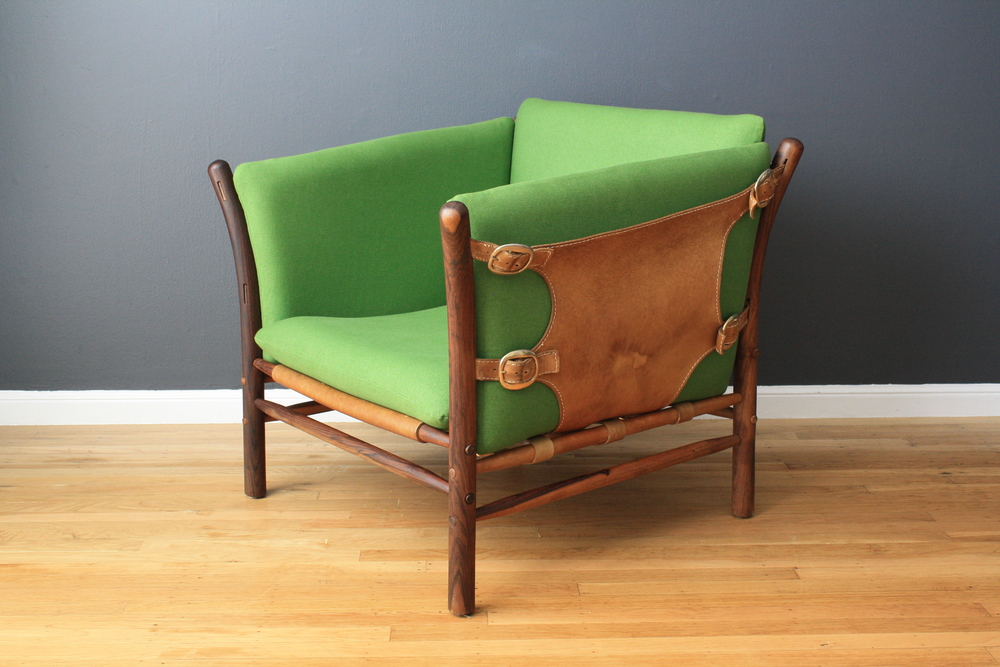 "Vintage Rosewood ""Llona"" Chair by Arne Norell"