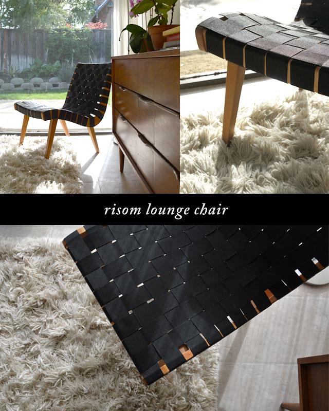 Vintage Risom Chair - Karolina, Palo Alto, CA