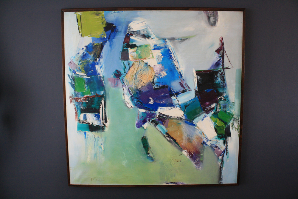 "Copy of Large Abstract Painting, ""The Sea Walker"" by P. Traubel"