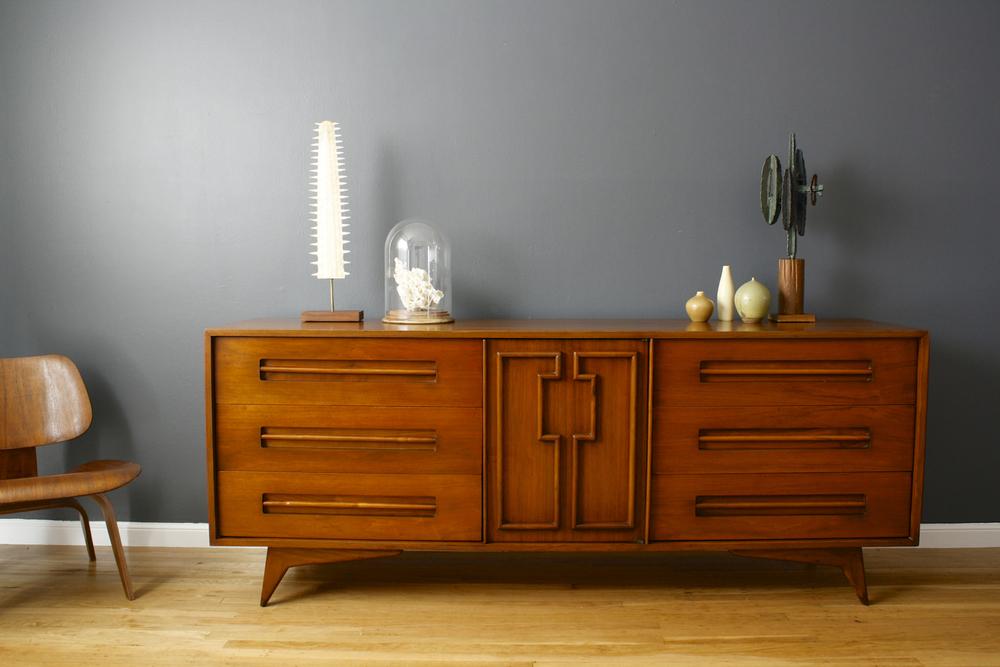 Mid-Century Modern Dresser by Genova