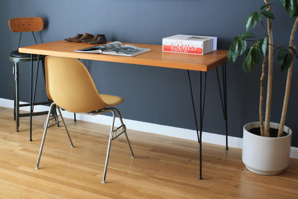 Copy of Vintage Hairpin Leg Desk