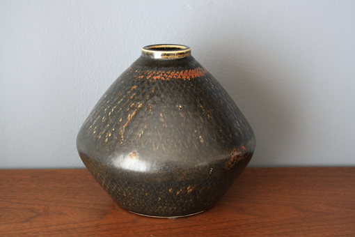Mid-Century Ceramic Vase by Carl Harry Stalhane