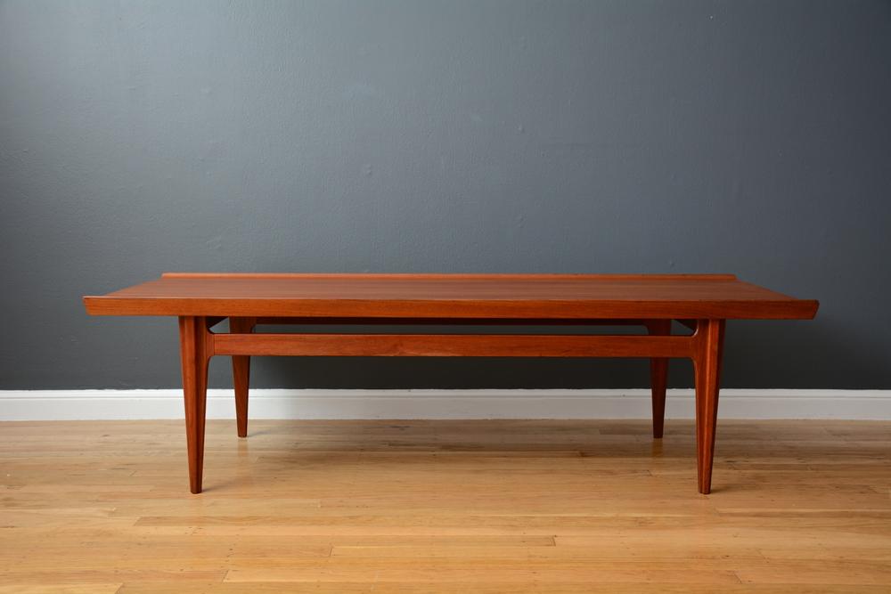 Copy of Danish Modern Teak Coffee Table by Finn Juhl