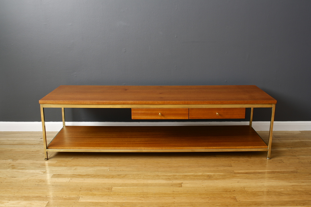 Vintage Midcentury Coffee Table by Paul McCobb for Calvin