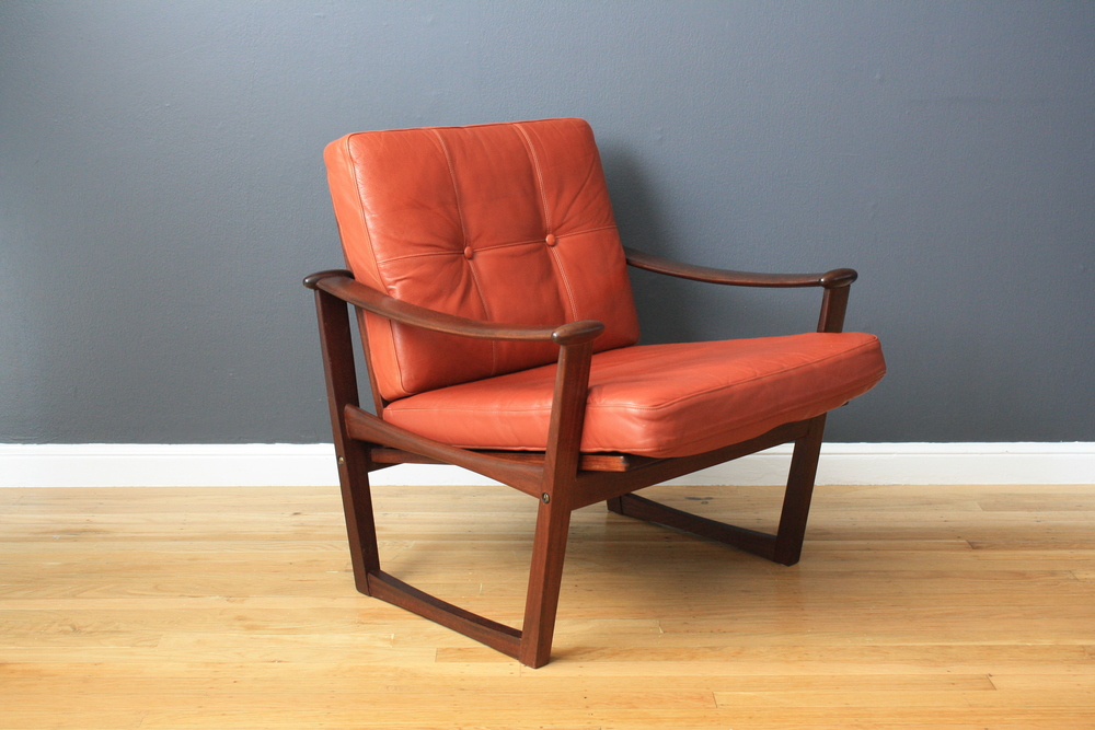 Danish Modern Lounge Chair by Finn Juhl