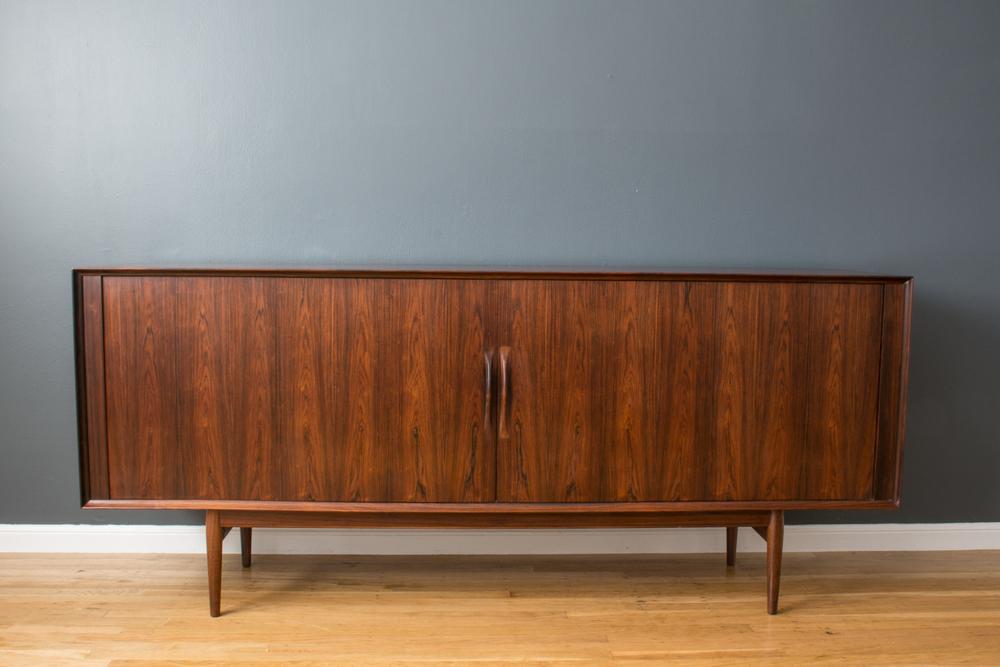 Danish Modern Rosewood Sideboard by Arne Vodder for Sibast