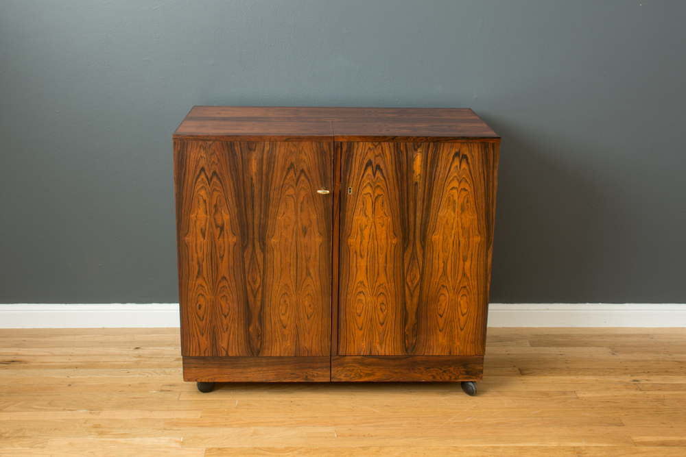 Copy of Danish Modern Rosewood Bar