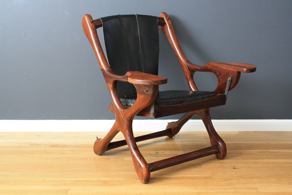 Vintage Sling 'Swinger' Chair by Don Shoemaker