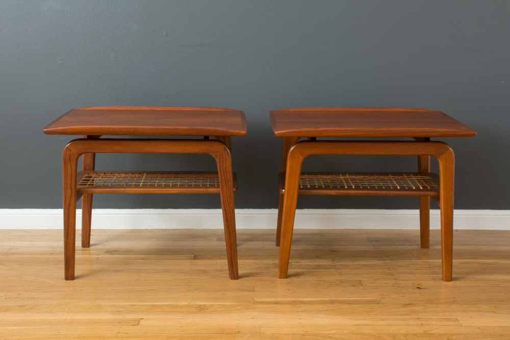 Pair of Danish Modern Side Tables