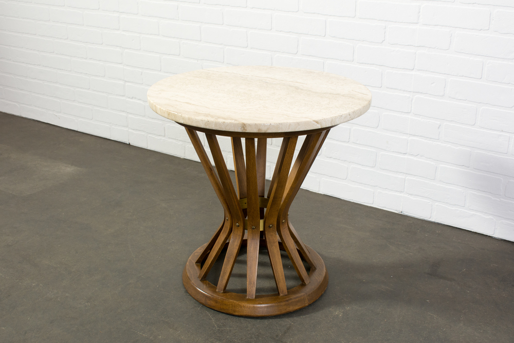Vintage Mid-Century Side Table by Edward Wormley for Dunbar