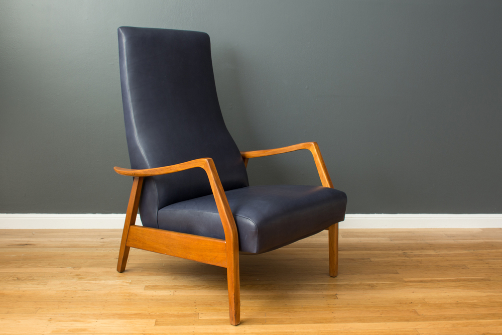 Vintage Recliner by Milo Baughman for Thayer Coggin