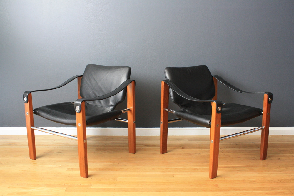 Copy of Pair of Vintage Lounge Chairs