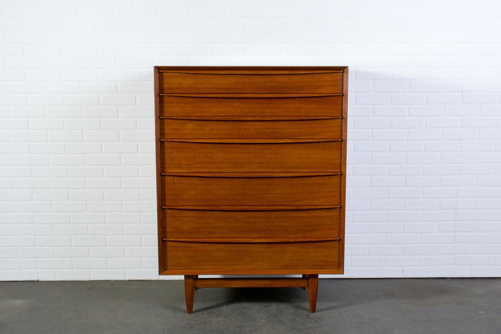 Danish Modern Teak Dresser by Falster