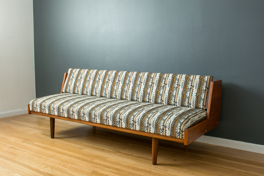 Copy of Danish Modern Day Bed by Hans Wegner for GETAMA