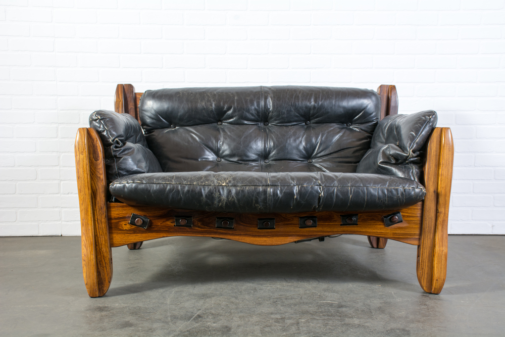 Copy of Rare Descanso Loveseat Sofa by Don Shoemaker