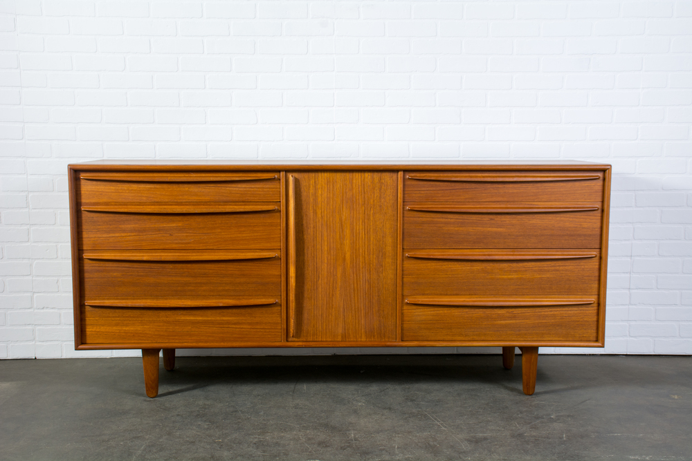 Danish Modern Dresser by Falster