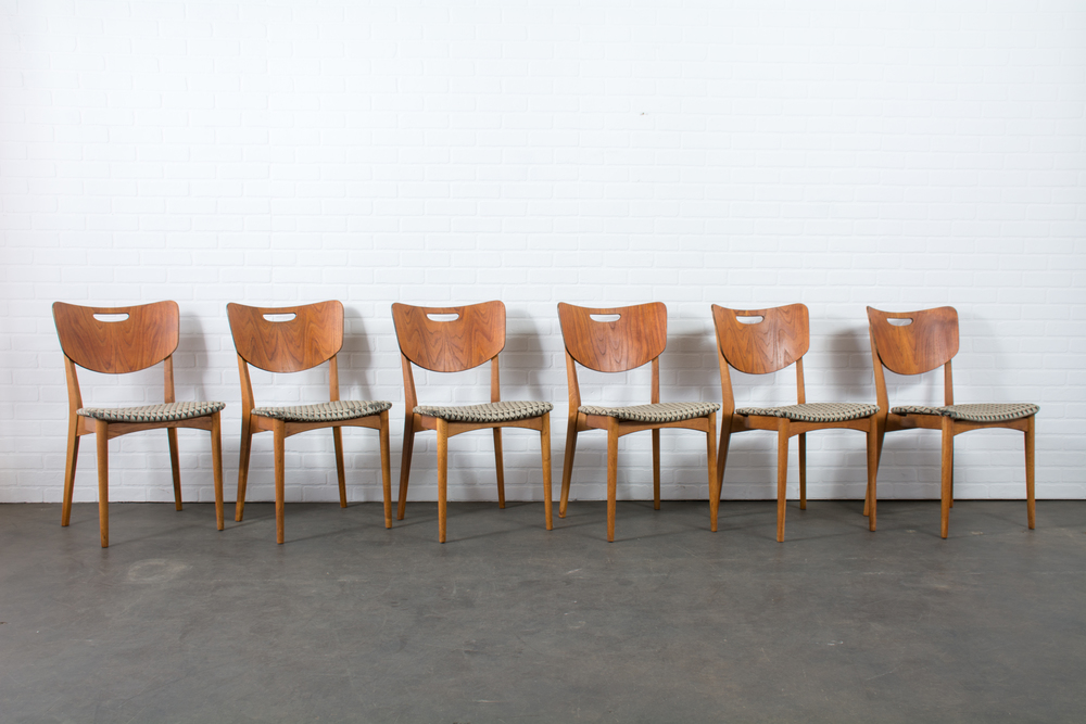 Copy of Set of Six Danish Modern Dining Chairs