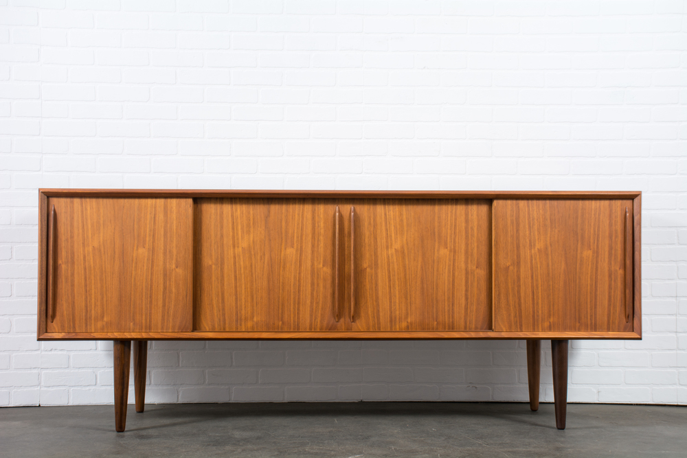Danish Modern Sideboard by H.P. Hansen
