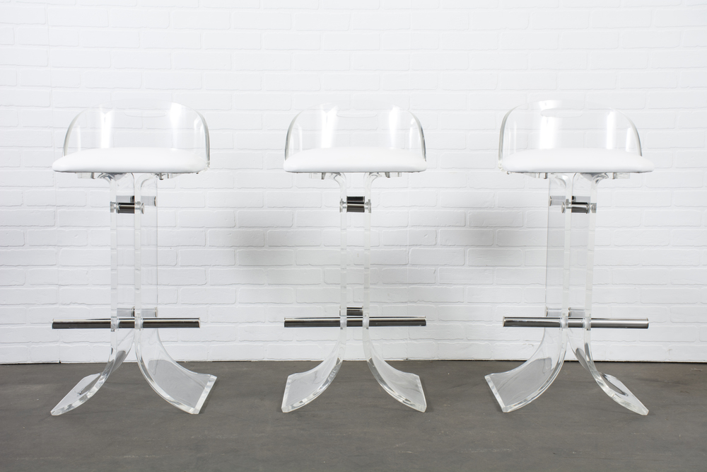 Copy of Set of Three Hollis Jones Bar Stools