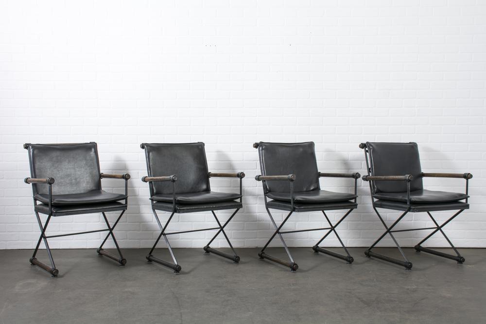 Set of Four Cleo Baldon Armchairs