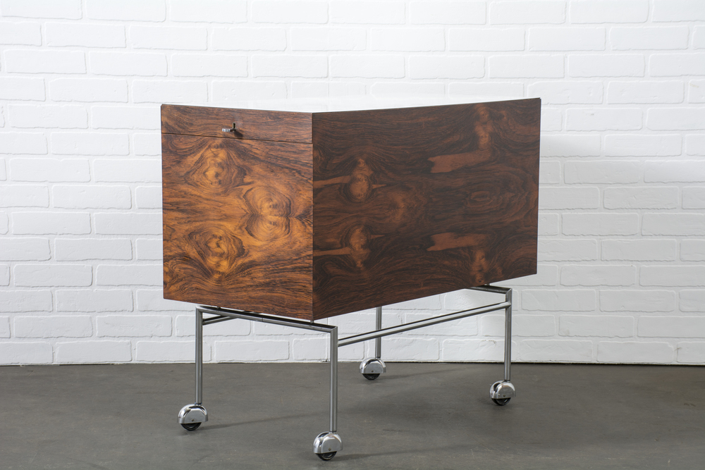 Copy of Danish Modern Rosewood Bar by Poul Nørreklit