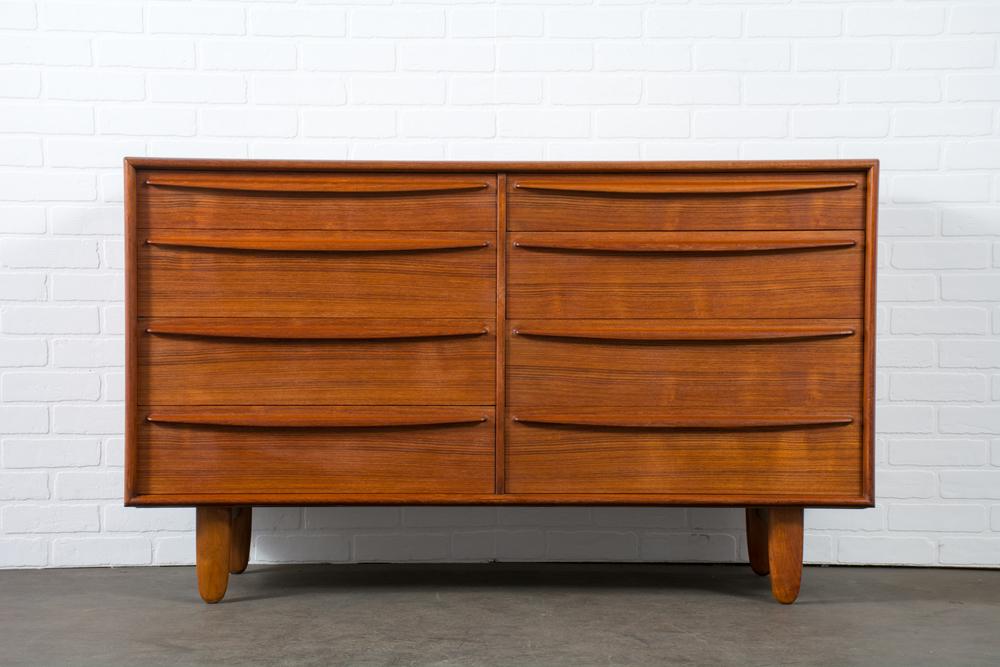 Teak Dresser by Sven A. Madsen for Falster