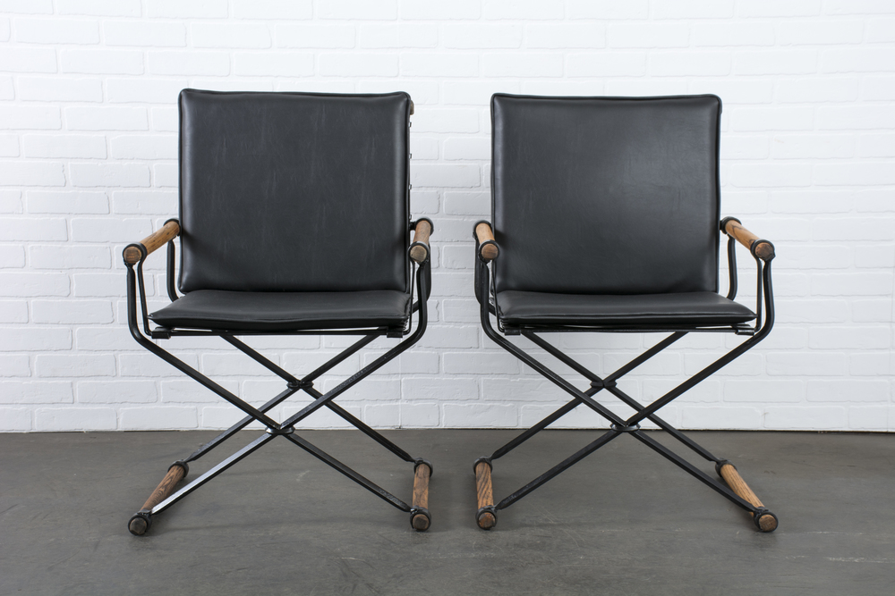 Copy of Pair of Vintage Armchairs by Cleo Baldon