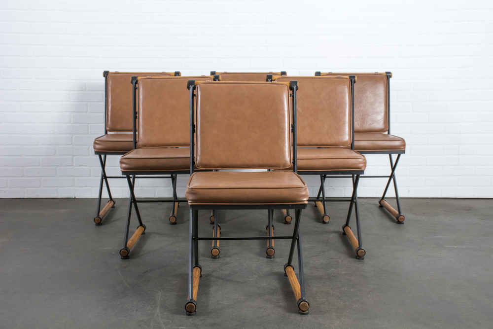 Copy of Set of Six Vintage Cleo Baldon Chairs