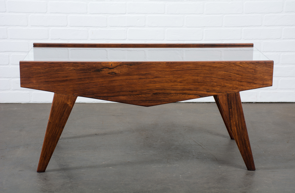 Danish Modern Rosewood Bar by Poul Nørreklit