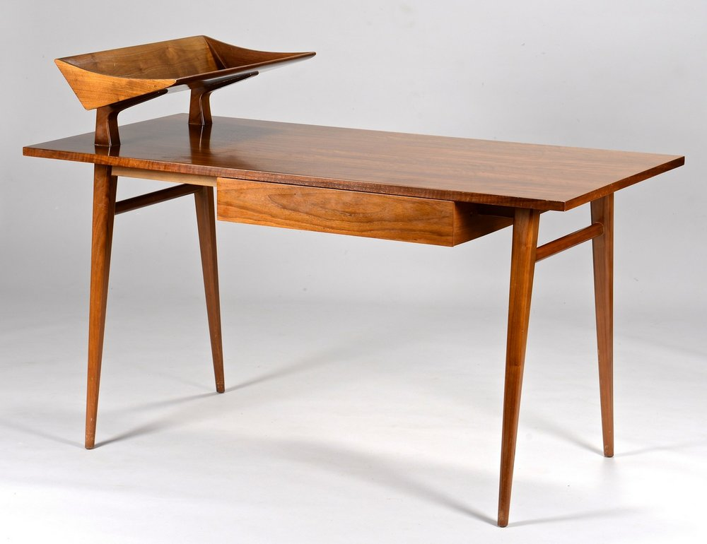 Bertha Schaefer for Singer & Sons Desk designed in 1955. Photo: Case Antiques