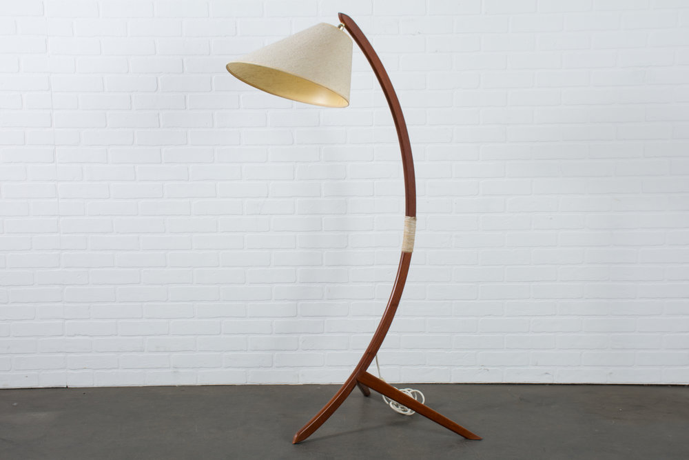 Copy of Danish Modern Teak Floor Lamp