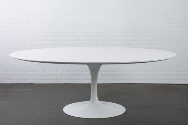 Vintage Oval Tulip Table by Eero Saarinen for Knoll
