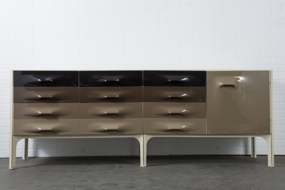 Vintage Mid-Century DF2000 Dresser by Raymond Loewy