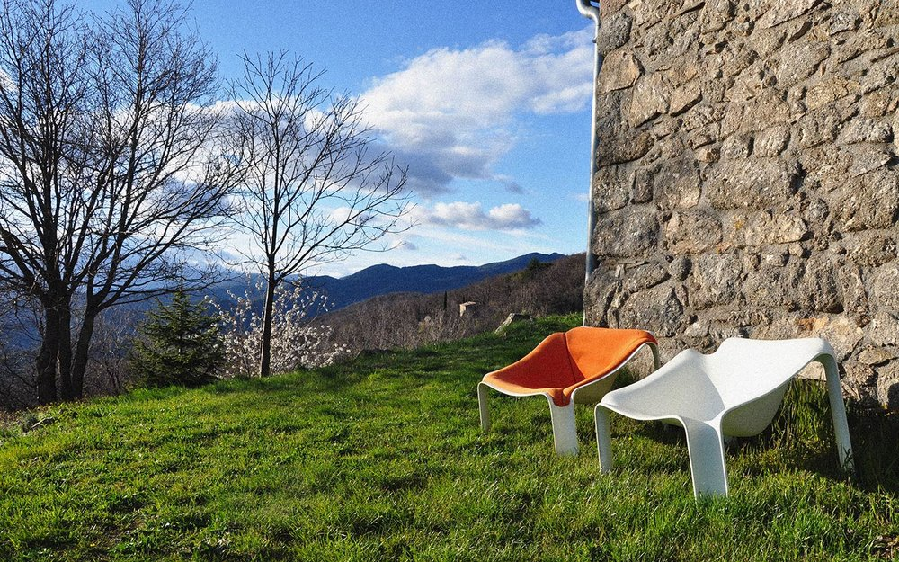The Bergerie located at the entrance of the Cévennes National Park, France. | Photo credit: Paulin Paulin Paulin