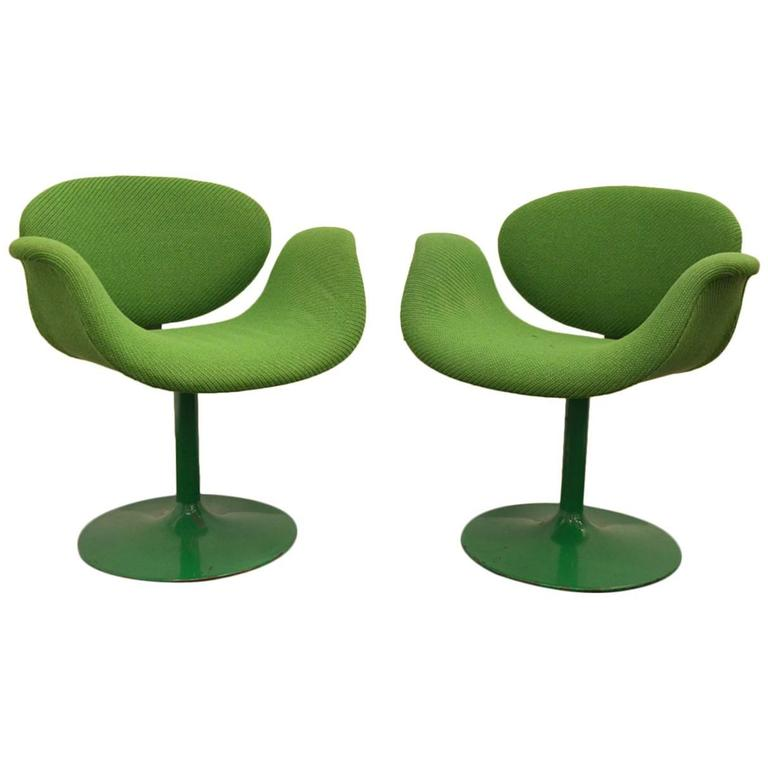 Pair of Tulip Chairs. Photo: 1stdibs/L'Atelier 55