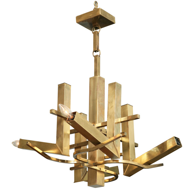 Gaetano Sciolari Chandelier | Photo: Gary Rubenstein/1stdibs