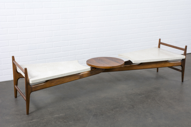 Vintage Mid-Century Sculptural Coffee Table by Harvey Probber