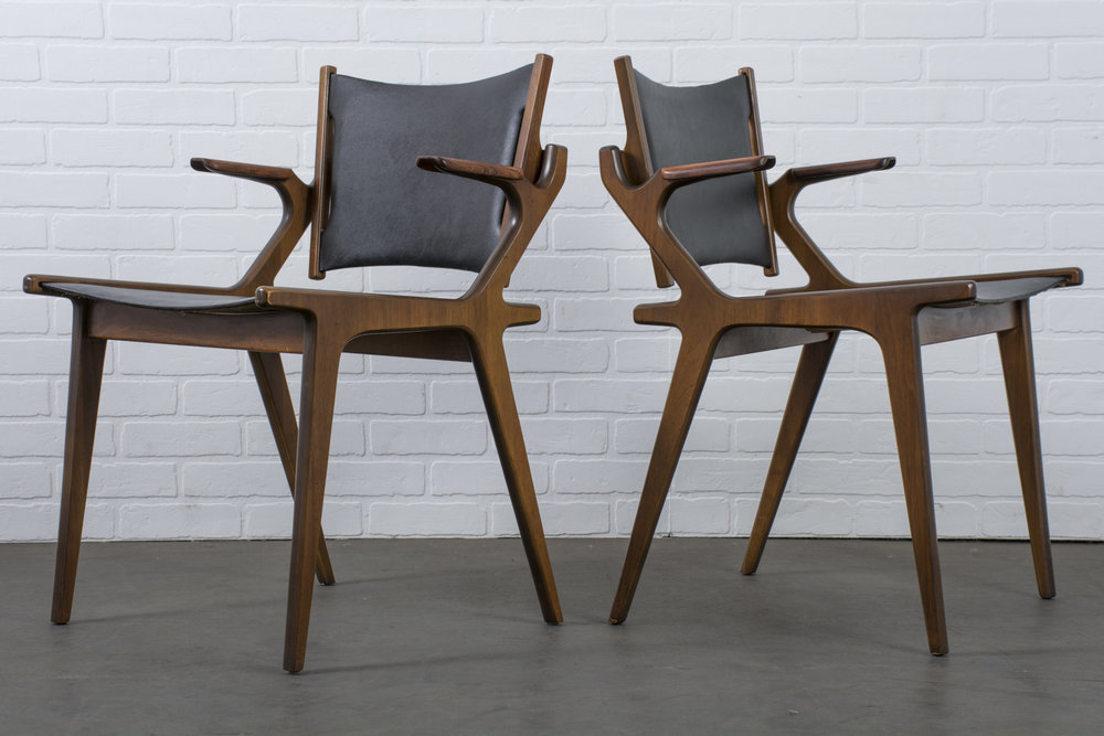 Copy of Pair of Vintage Mid-Century Chairs by Richard Thompson for Glenn of California