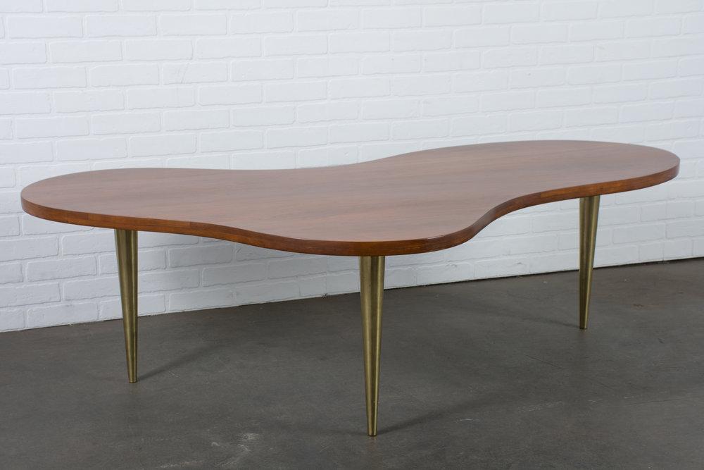 T.H. Robsjohn-Gibbings Biomorphic Coffee Table for Widdicomb
