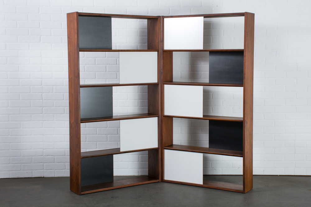 Vintage Mid-Century Room Divider/Bookcase by Evans Clark for Glenn of California
